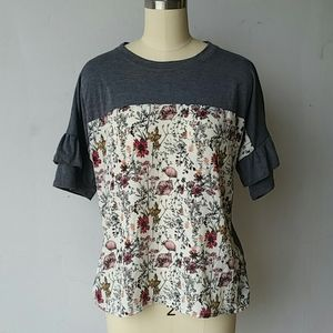 Maurices Medium Floral Blouse